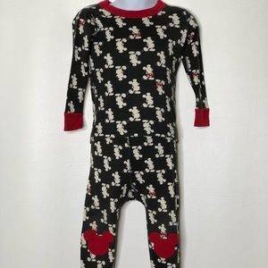 Hanna Andersson Mickey Mouse Knee Patch pajamas
